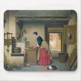 In the Pantry, 1868 (oil on panel) Mouse Pad