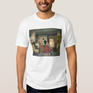 In the Pantry, 1868 (oil on panel) T-Shirt