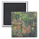 In the Park of Chateau Noir, c.1896-99 2 Inch Square Magnet