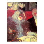 In the particular cabinet by Toulouse-Lautrec Postcard