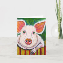 In the Pig Pen Card