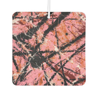 IN THE PINK (an abstract art design) ~ Car Air Freshener
