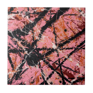 IN THE PINK (an abstract art design) ~ Ceramic Tile