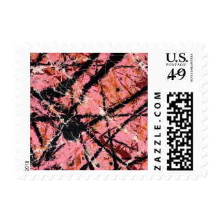 IN THE PINK (an abstract art design) ~.jpg Postage