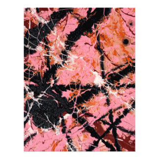 IN THE PINK (an abstract art design) ~ Letterhead