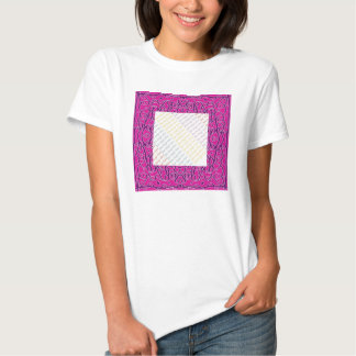 In the Pink Bandanna picture frame t-shirt