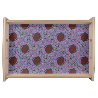 In The Pink Colorfoil Bandanna serving tray