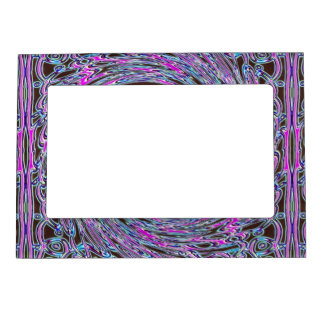 In The Pink Colorfoil Bandanna Twirl Magnetic Picture Frame