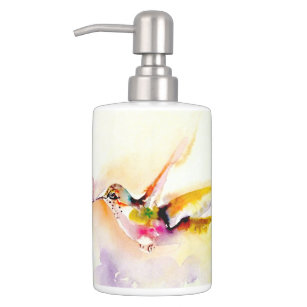 Hummingbird Decor Bathroom Accessories | Zazzle