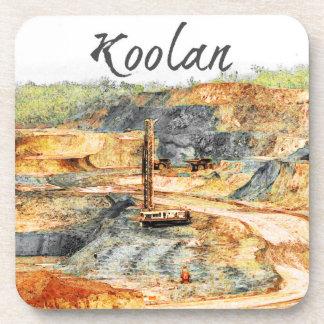 In the Pit - Koolan, Beverage Coaster