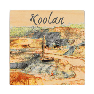 In the Pit - Koolan, Wood Coaster