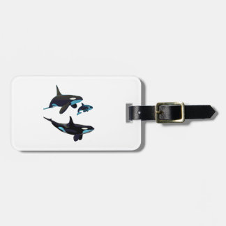 IN THE POD LUGGAGE TAG