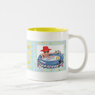 In the Pool with Ducky Mug