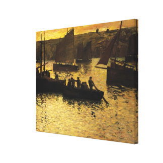 In the Port 1895 Gallery Wrapped Canvas