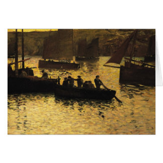 In the Port 1895 Greeting Cards