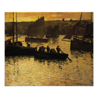 In the Port 1895 Print