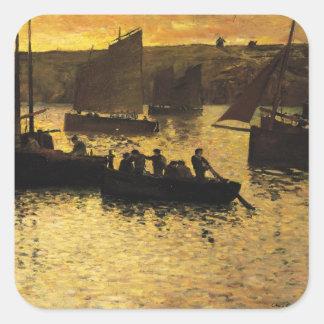 In the Port 1895 Square Sticker