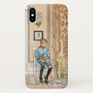 In the Punishment Corner by Carl Larsson iPhone X Case