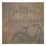 In the Pursuit of Happiness Photo print