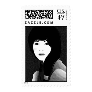 In the Quiet 3 - Stamp