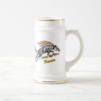 In The Race Horse Beer Stein