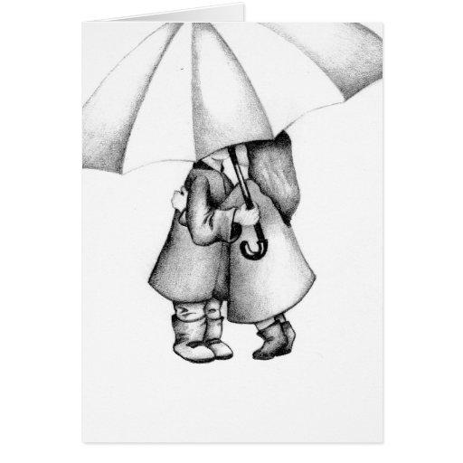 In The Rain Card