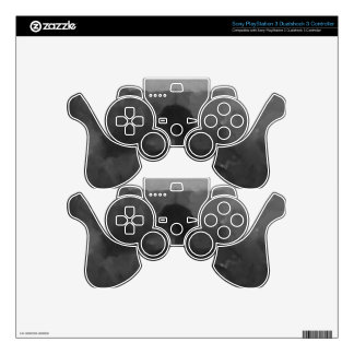 In the Rain Dark Art Painting PS3 Controller Skins