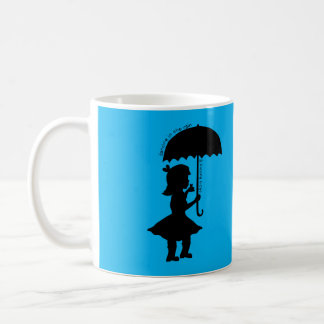 In The Rain With A Frog Coffee Mug