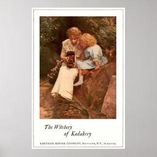 In The Rock Garden. Circa 1913. Poster