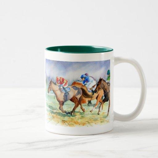 In the Running Two-Tone Coffee Mug