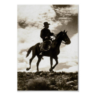 In the Saddle Poster