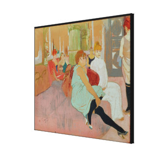In the Salon at the Rue des Moulins, 1894 Canvas Print