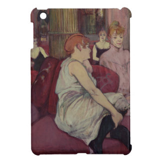 In the Salon at the Rue des Moulins 1894 Cover For The iPad Mini