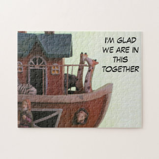 In the same boat jigsaw puzzle