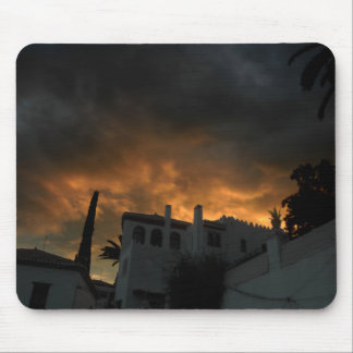 In the shade of the decline mouse pad