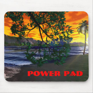 In the Shade: POWER PAD Mouse Pad