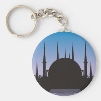 In the Shadow of Mecca Keychain