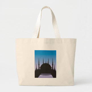 In the Shadow of Mecca Large Tote Bag