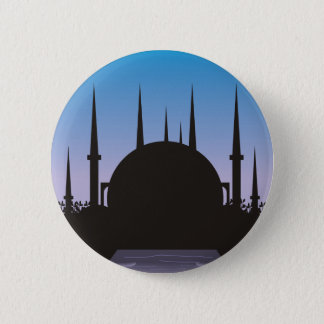 In the Shadow of Mecca Pinback Button