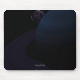 In The Shadow Of The Eclipse Mouse Pad