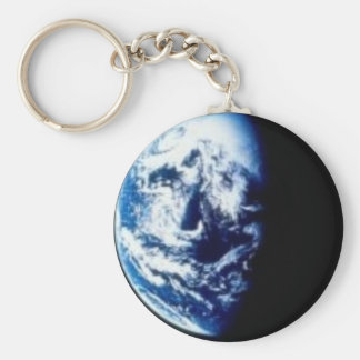 In the Shadows of Earth Keychain