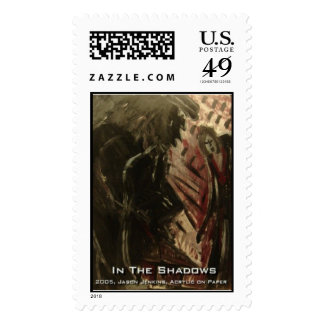in the shadows postage