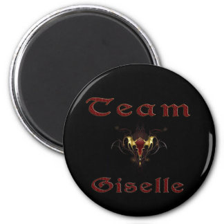 In the Shadows - Team Giselle 2 Inch Round Magnet