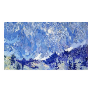 In the Sierra by Guy Rose Business Cards