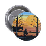 In the silence 2 inch round button