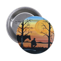 In the silence pinback button