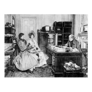 In the Solicitor's Office Postcard