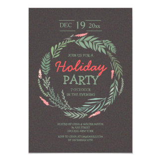 In the Spirit Holiday Invitation
