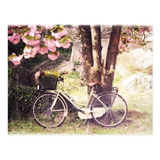 In the spring garden postcard