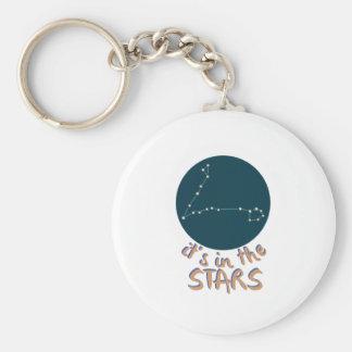In The Stars Basic Round Button Keychain